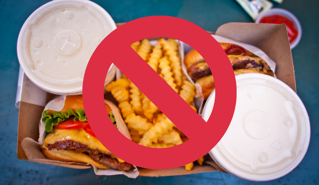 junk food to avoid as precaution in third month