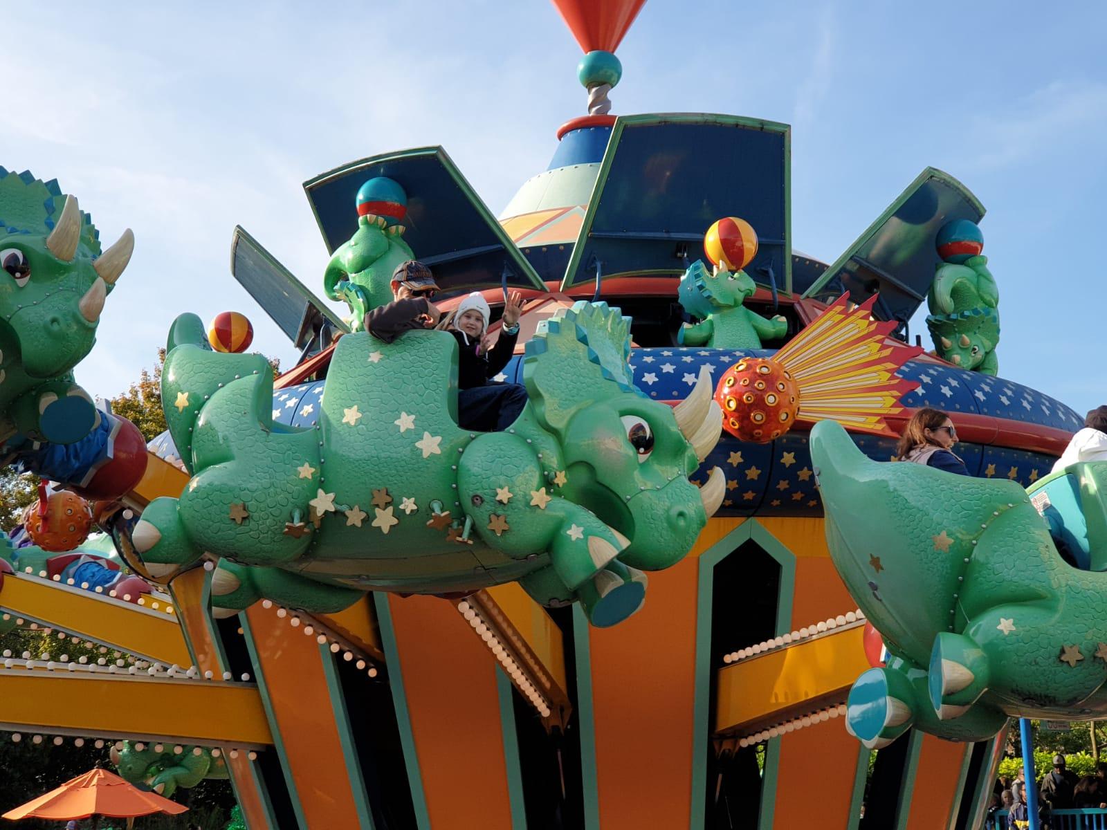 TriceraTop Spin at Animal Kingdom