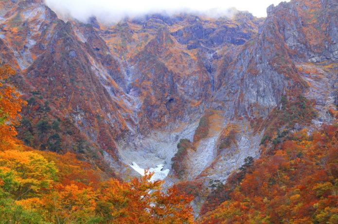 「谷川岳の紅葉」の画像検索結果
