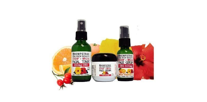 CBG & CBD Skincare products