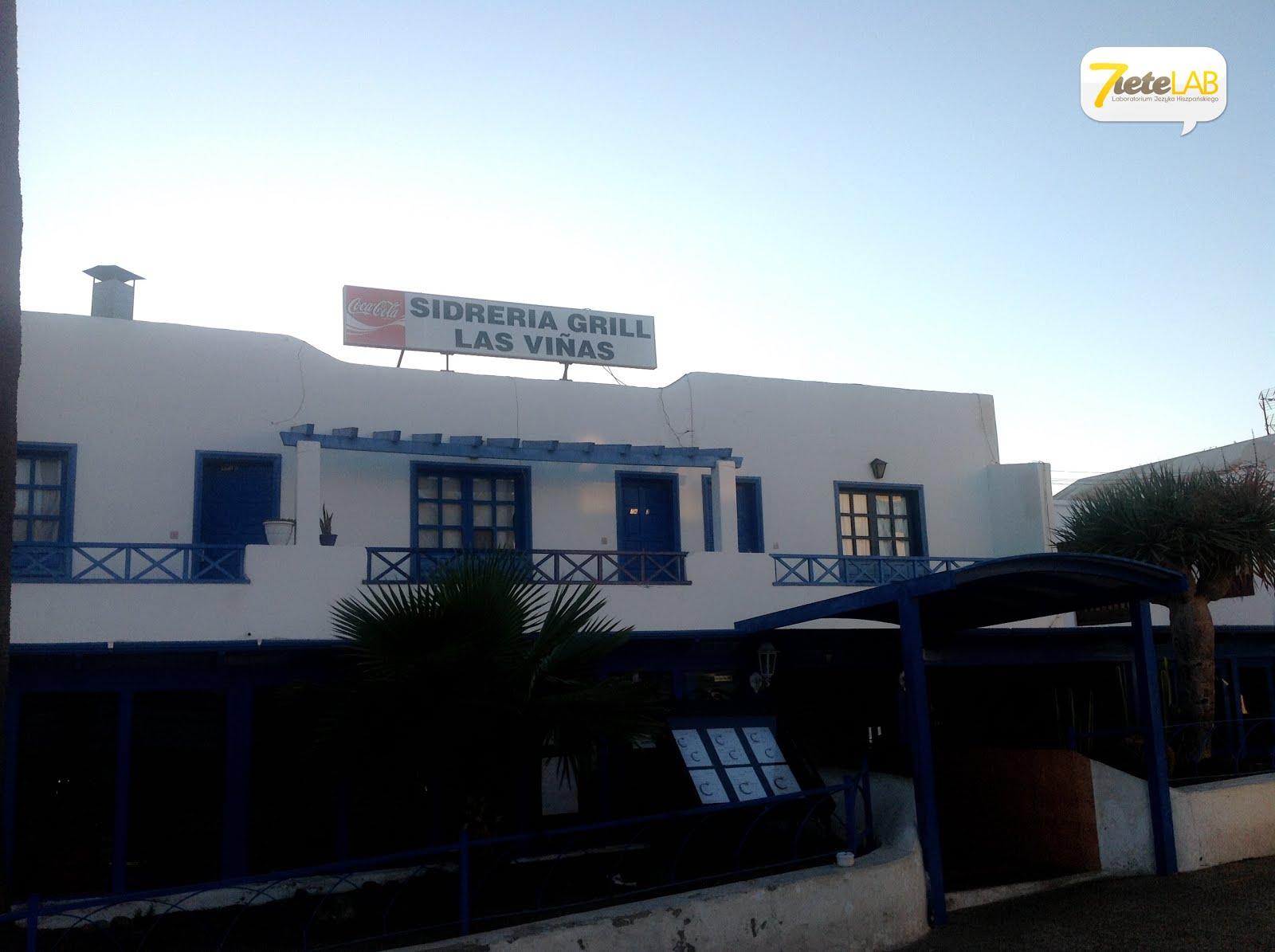 7ieteLAB español - Sidrería Grill Las Viñas en Playa Honda