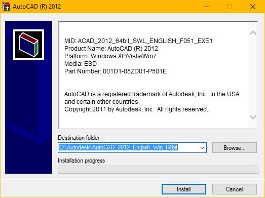 Nhấn Install