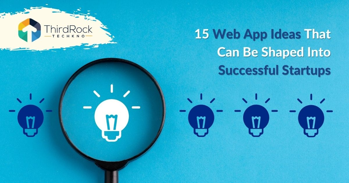web app ideas for successful startups