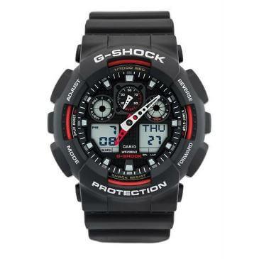 Đồng hồ casio g-shock ga-100-1a4 là phiên bản nóng rực của dòng Casio G – Shock