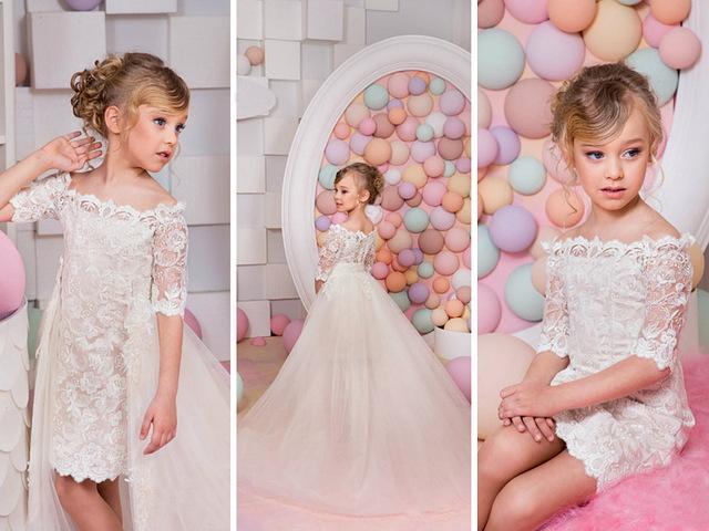 Sukienki dla dziewczynek wizytowe