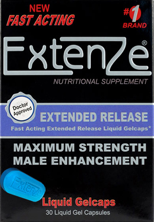Extenze Male Enhancement Pills settings