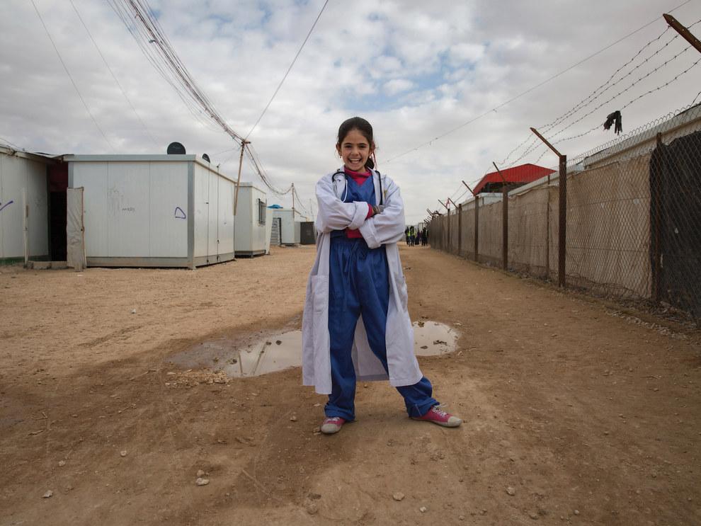 Rama, 13, future doctor