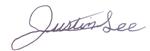 Justin Lee Signature