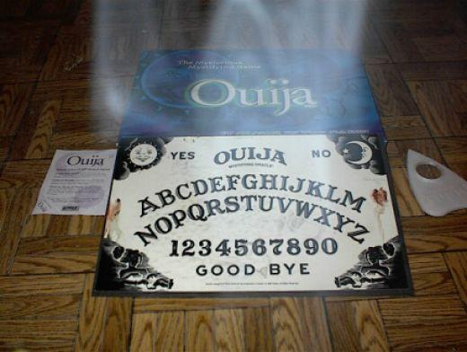 The ouija board (ghosts.org)