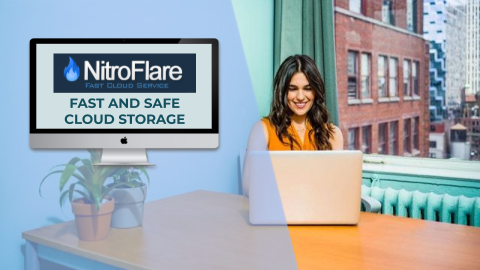 NitroFlare Premium - Fast and Safe Cloud Storage