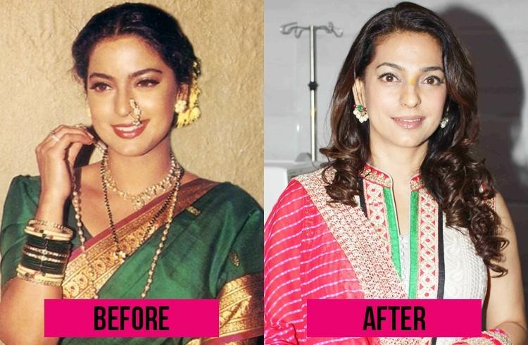 http://www.fashionlady.in/wp-content/uploads/2014/02/juhi-chawla-then-and-now.jpg