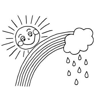 Výsledek obrázku pro déšť kreslený