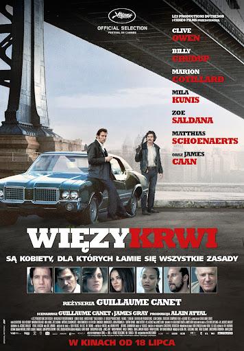 Polski plakat filmu 'Więzy Krwi'
