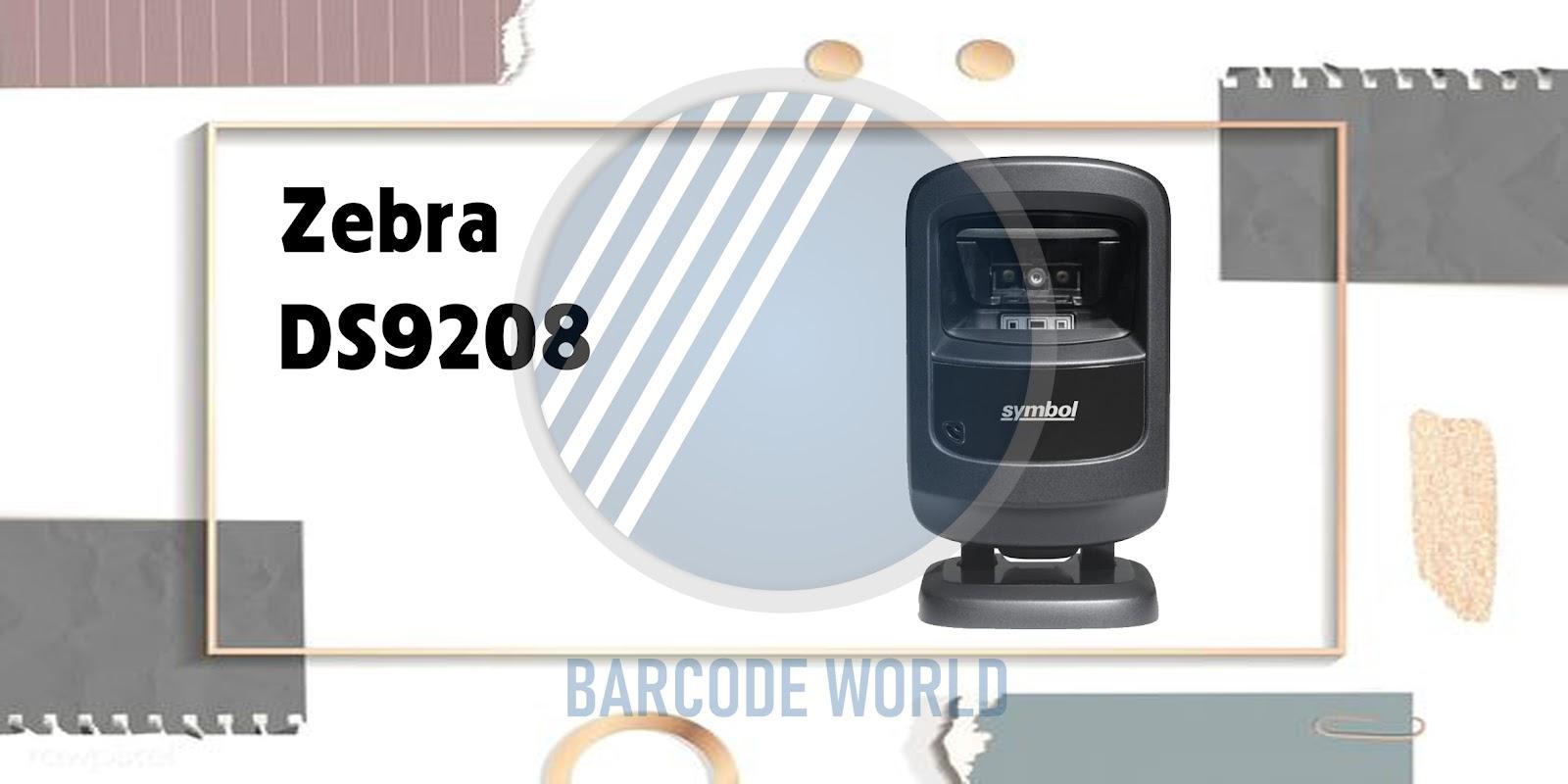 Máy quét barcode Zebra DS9208 phù hợp cho bệnh viện, y tế I Thế Giới Mã Vạch