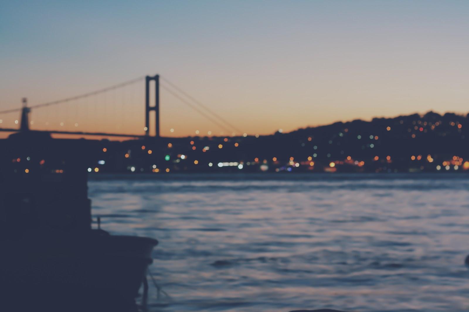 İstanbul, Bosphorus bridge