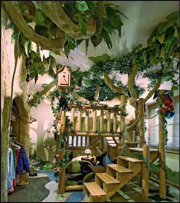 Jungle Kids Bedroom