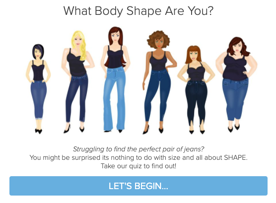 What Body Shape are you quiz cover