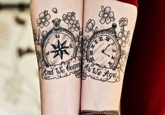 Wrist Design Tattoos
