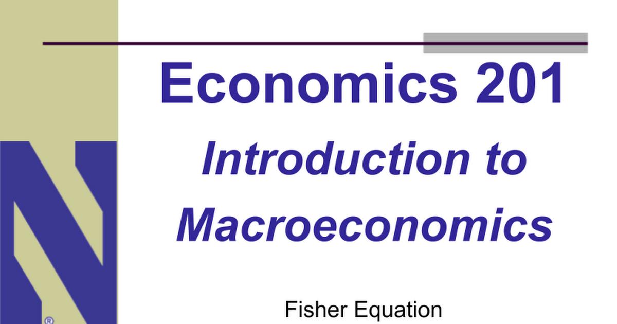 economics 201