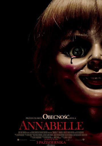 Polski plakat filmu 'Annabelle'
