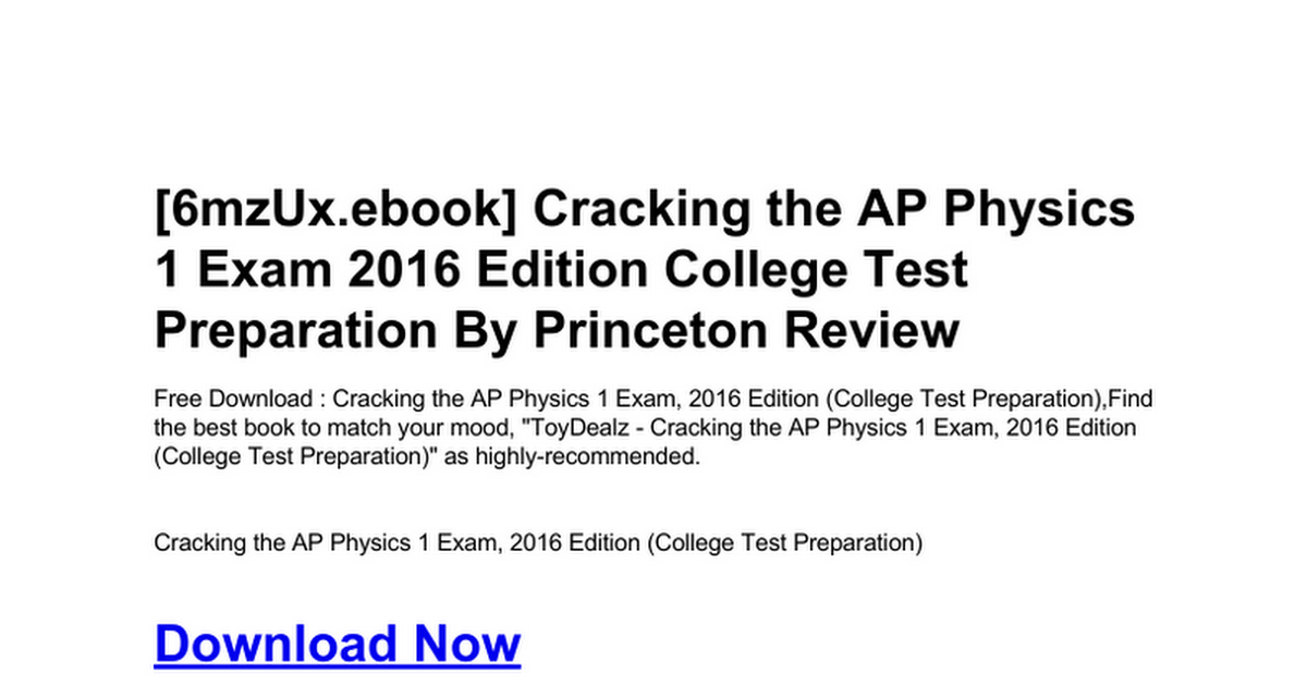 cracking-the-ap-physics-1-exam-2016-edition-college-test-preparation
