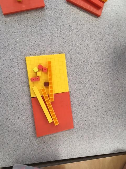 Showing Decimals with Base Ten Blocks