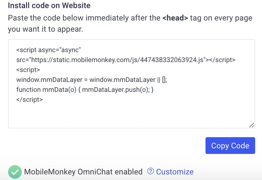how to get live chat