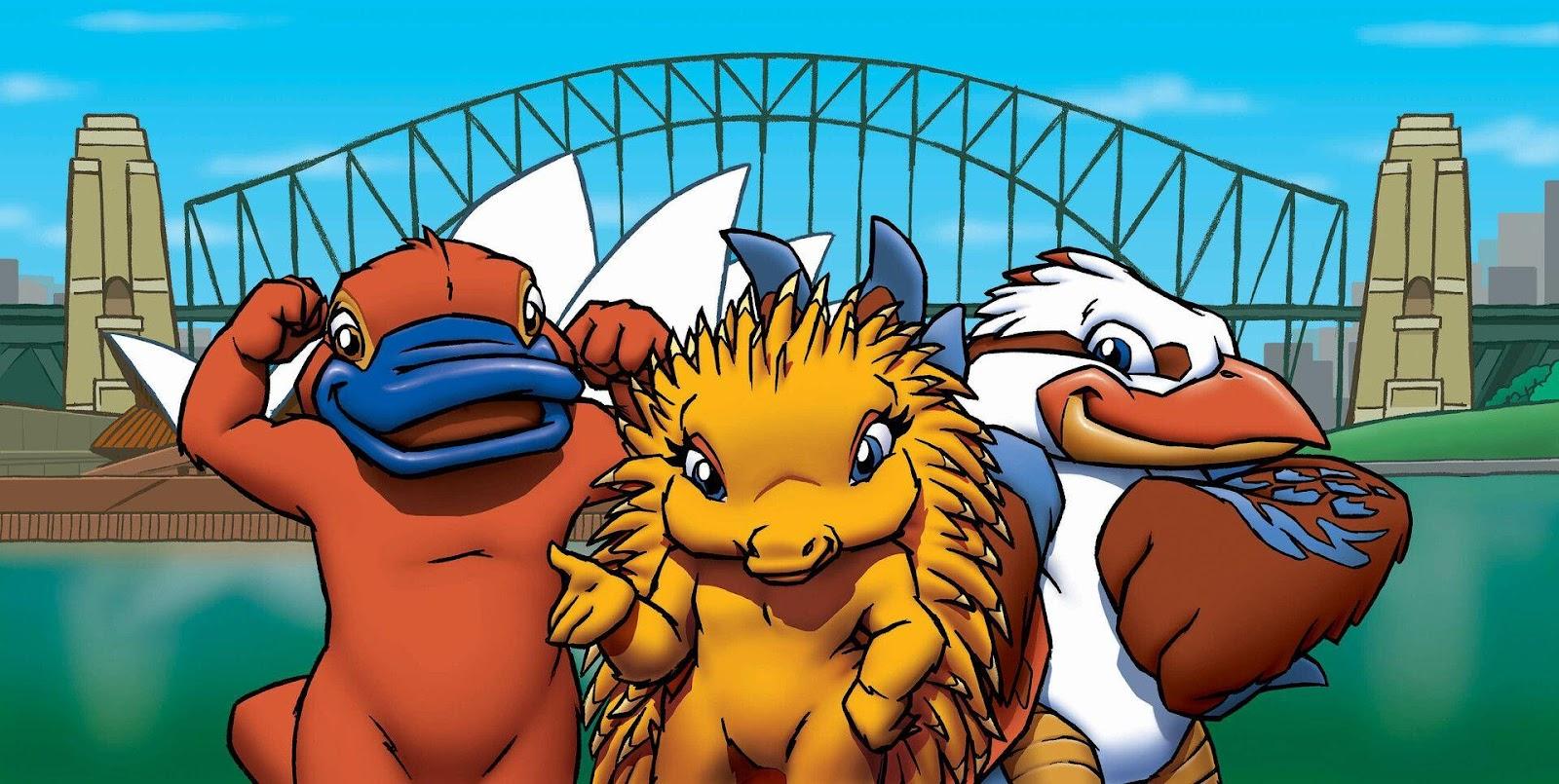 Sydney Olympics 2000 - mascots   Parramatta History and Heritage