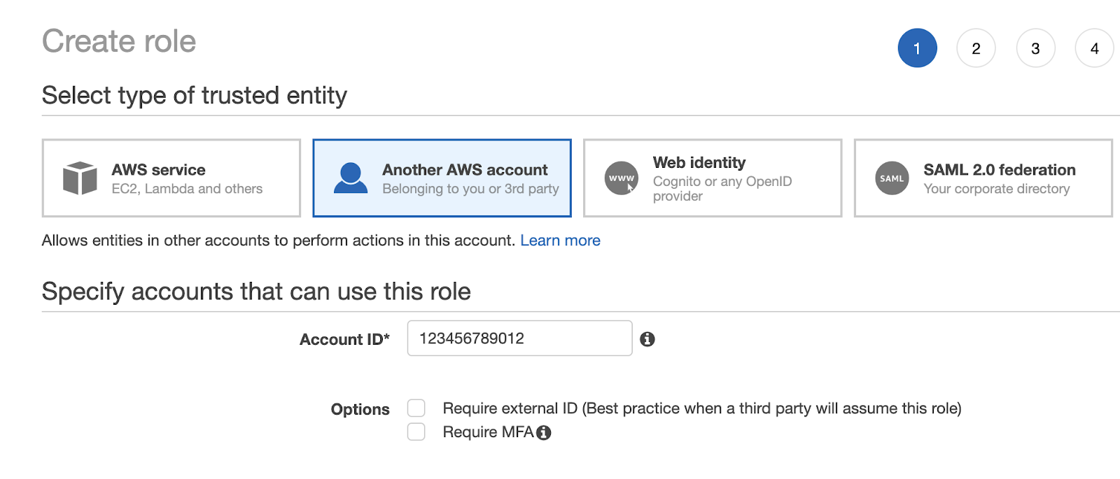 Create an IAM role in the Prod account (Trusting Account) | Liainfraservices