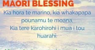 Image result for Blessing in maori