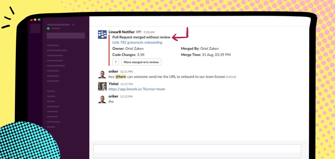 data-driven dev team - code quality alert