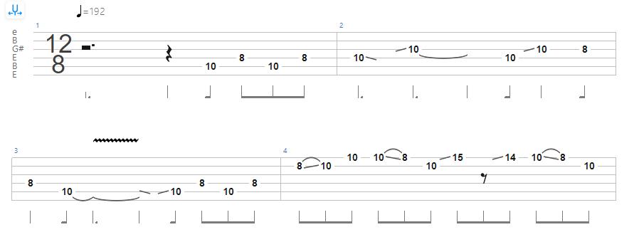 Open E Tuning - Allman Brothers Band – Statesboro Blues Tab