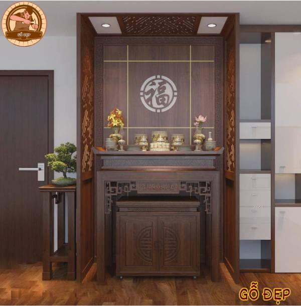 Vách ngăn CNC hiện đại được lắp đặt tại nhà anh Hùng