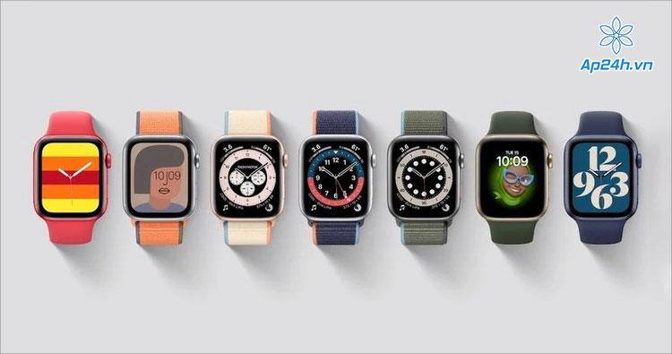 Các màu sắc của Apple Watch Series 7