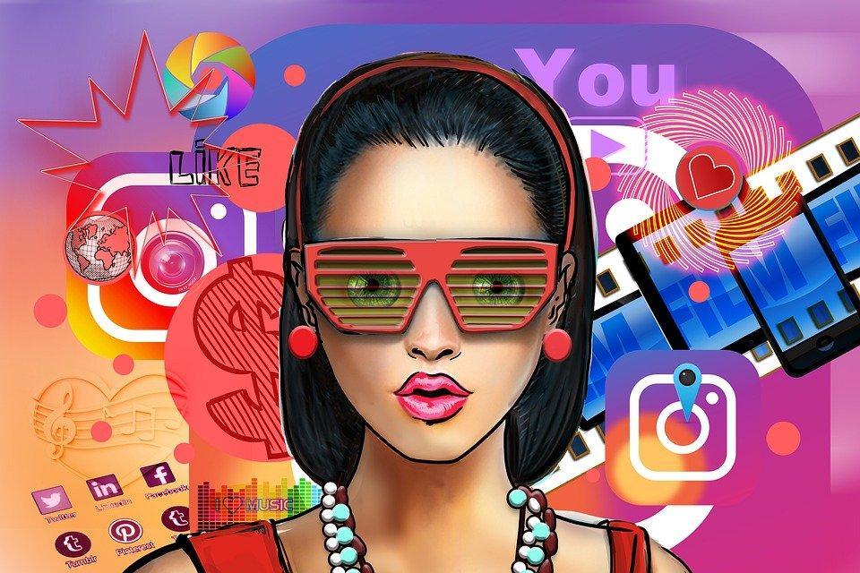 Influencer, Social Media, Woman, Person, Face