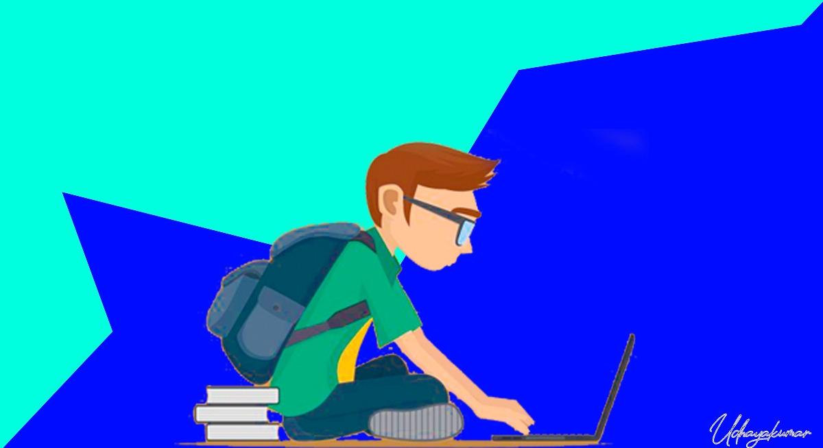 illustration of a studying aspirants