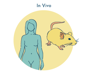 In vivo testing and negative urine cultures
