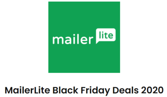 MailerLite Black Friday Deals