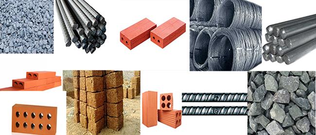 Vật liệu xây dựng nhà 3 gian