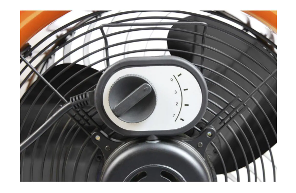 Speed dial knob of Commercial Electric fan