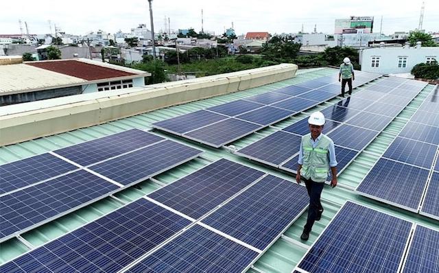 Lắp đặt điện mặt trời mái nhà giúp bảo vệ môi trường hiệu quả