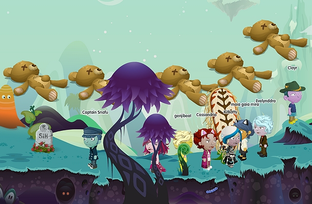 ATTACK OF THE GIANT EMO BEARS!