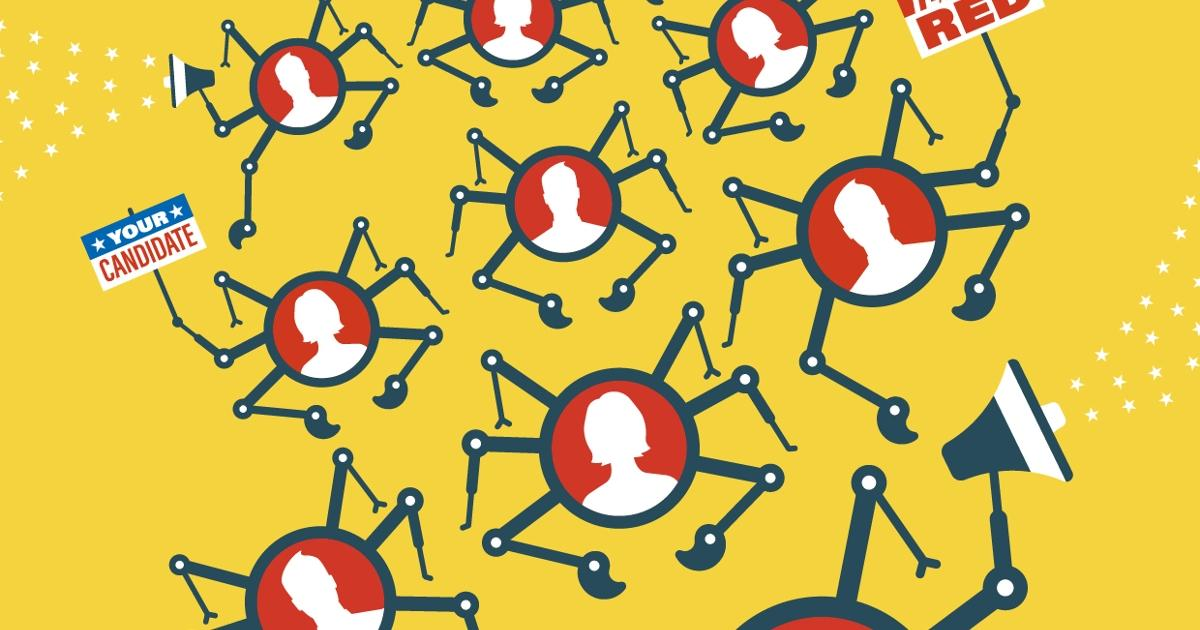 How Political Campaigns Weaponize Social Media Bots - IEEE Spectrum