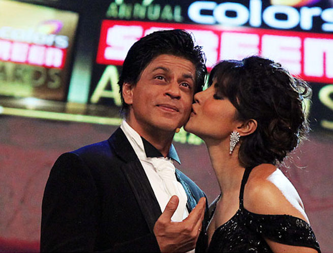 5. Shah Rukh Khan and Priyanka Chopra