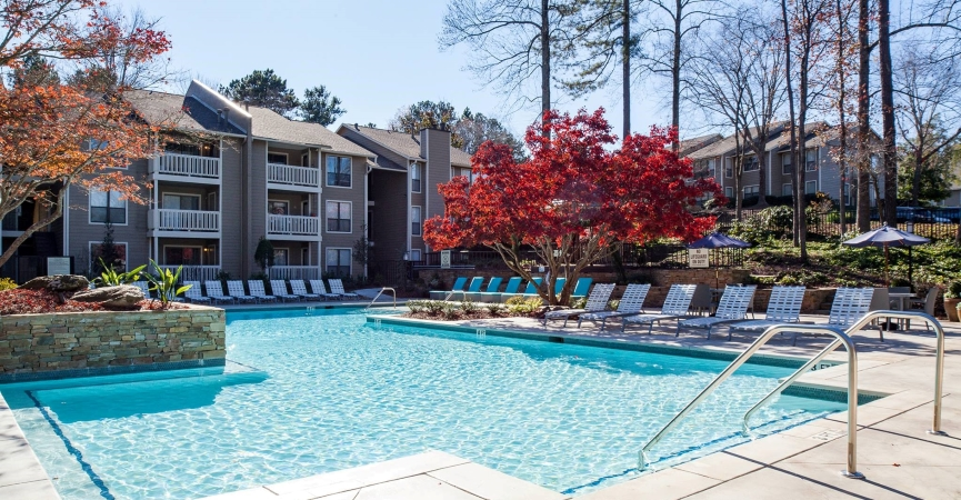 Cortland at the Village apartments in Smyrna, GA.
