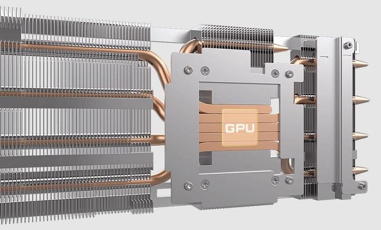VGA Gigabyte GeForce RTX 3060 Ti VISION OC 8G (N306TVISION OC-8GD) | Đường ống nhiệt cảm ứng trực tiếp