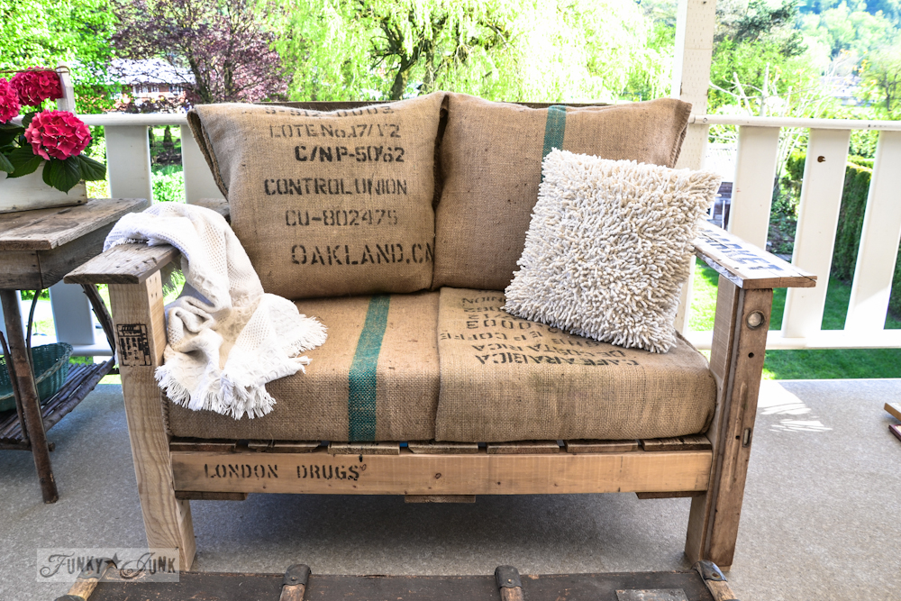 Create a Vintage Looking Arm Chair with Some Pallets: These 12 DIY Outdoor Pallet Furniture Ideas will add some flare to your outdoor space and save you money.