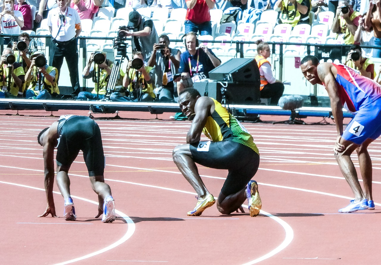Usain Bolt in his Best Sprinting Shoes