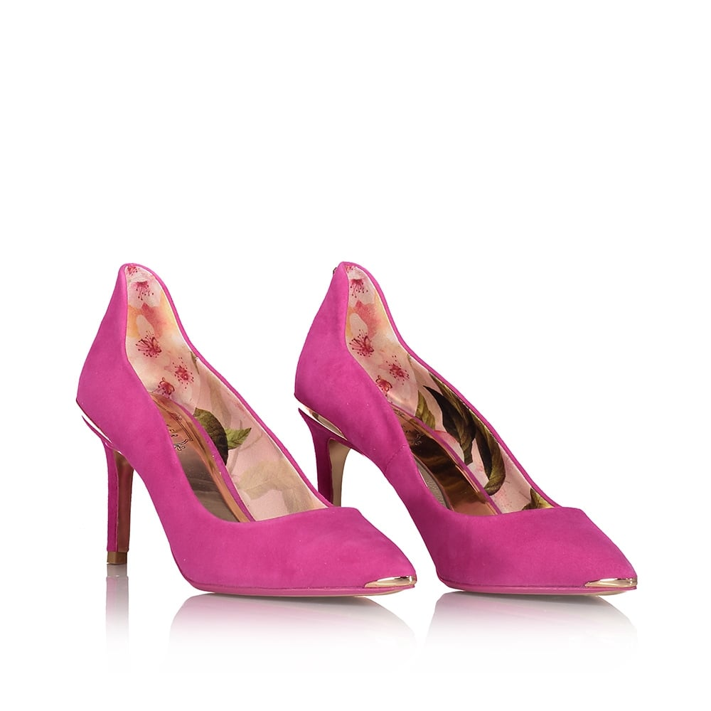 TED BAKER Vyixyns Bow Detail Heel Trim Courts