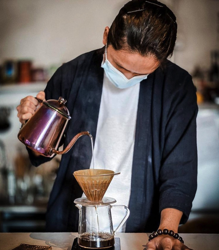 騎住鳳凰沖咖啡